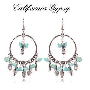 JUST IN🎉Festival hippie boho turquoise earrings